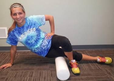 Iliotibial (IT) Band Foam Rolling