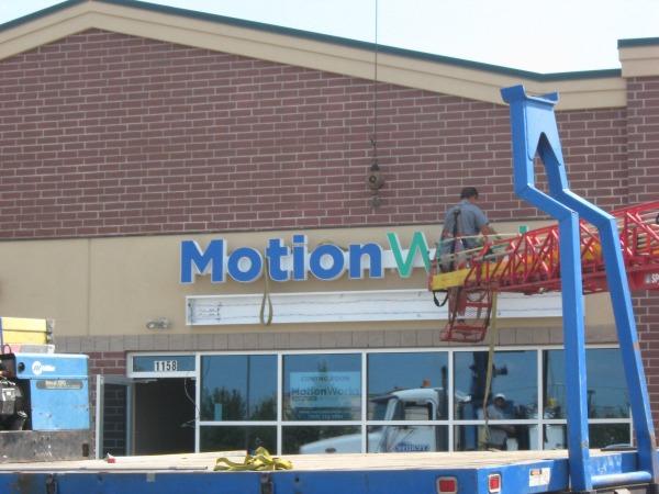 MotionWorks Sign