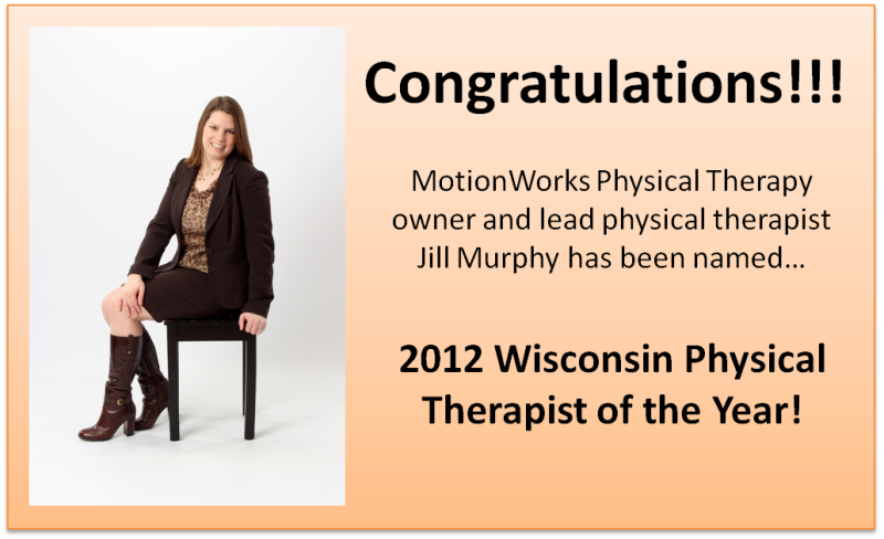 Physical Therapist of the Year