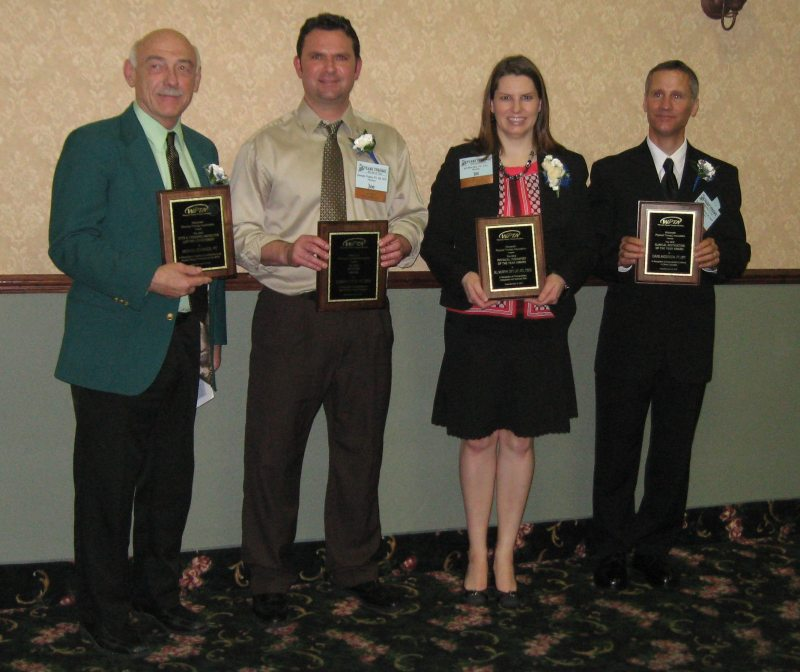 WPTA 2012 award winners