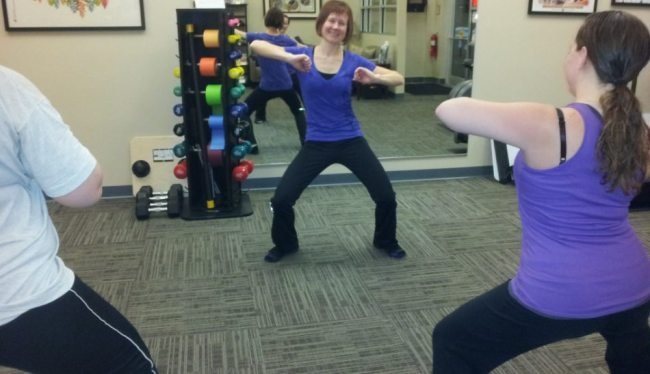 Zumba Class at MotionWorks Physical Therapy