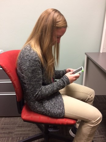bad texting posture