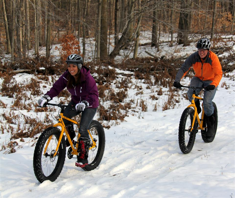 Fat Tire Winter Biking